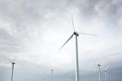 Wind Turbines in wind farm Royalty Free Stock Image