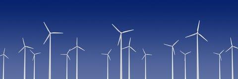 Wind turibines Royalty Free Stock Photo