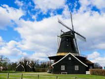 The village windmill Royalty Free Stock Photos