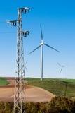 Wind und Strom Lizenzfreie Stockbilder
