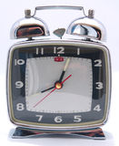Wind up Mechanical Alarm Clock Stock Photography