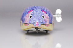Wind-up mouse Royalty Free Stock Image