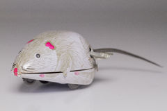 Wind-up mouse Stock Photography