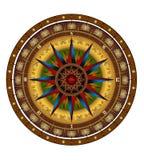 Wind van het kompas nam toe Royalty-vrije Stock Fotografie