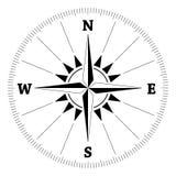 Wind van het kompas nam toe Stock Foto