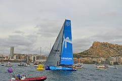 Wind van het Rasteam vestas van Volvo de Oceaan royalty-vrije stock foto's