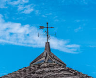 Wind Vane. On the roof royalty free stock image