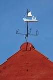 Wind vane sailing vessel Stock Photos