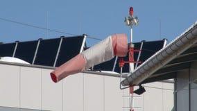 Wind vane stock footage