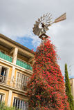 Wind vane, Street in old town, Nicosia, Cyprus Royalty Free Stock Photos