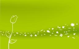 Wind (Vektor) Lizenzfreies Stockfoto