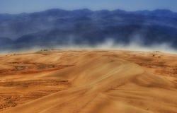 Wind von Death Valley Stockbild