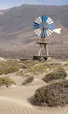 Wind water pump Royalty Free Stock Photo