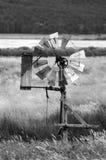 Wind water pump Stock Photo