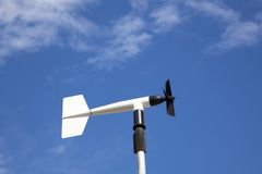 Wind wheel or anemometer Royalty Free Stock Photography