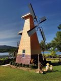 Wind wheel Stock Photo