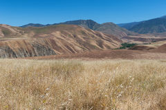 Wind Wolves Preserve and San Emigdio Canyon view Stock Photo