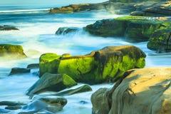 Windansea plaży los angeles Jolla Zdjęcie Stock