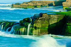 Windansea strand Arkivfoto