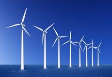 Windbauernhof Stockfotografie