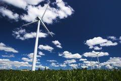 Windbauernhof stockbilder