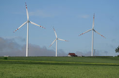 Windbauernhof Lizenzfreies Stockfoto
