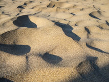 Windblown sand Stock Photography