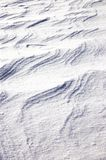 Windblown snow, closeup Stock Images