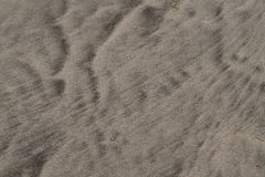 Windblown Strandsandmuster Lizenzfreie Stockfotos