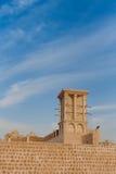 Windcatcher i Sharjah Royaltyfri Foto