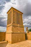 Windcatcher tower in Yazd Stock Photography