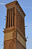 WINDCATHER TRADITIONNEL DANS YAZD Images stock