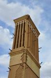 WINDCATHER TRADIZIONALE IN YAZD Fotografie Stock Libere da Diritti