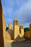 WINDCATHERS TRADICIONAL EN YAZD Imagen de archivo libre de regalías