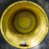 Winden-Reifen und gelbe Kante Lizenzfreie Stockfotografie