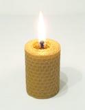 Winden sich Kerze Lizenzfreie Stockbilder