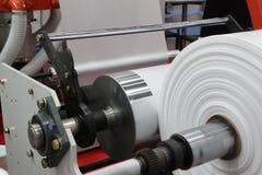 Windende eenheid van blazende machine van de uitdrijvings de plastic film stock foto
