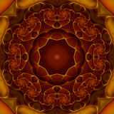 Windende Inner-Mandala Stockbild