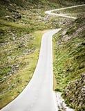 Windende landweg Royalty-vrije Stock Afbeelding