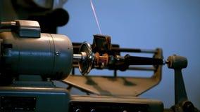 Windende machine stock footage