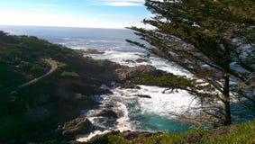 Windende Oceaanweg Royalty-vrije Stock Fotografie