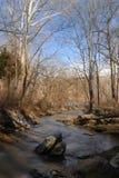 Windende rivier Stock Foto's