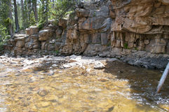 Windende rivier Royalty-vrije Stock Afbeelding