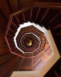 Windende trap Stock Fotografie