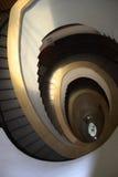Windende trap Stock Afbeeldingen