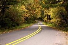 Windende Weg stock fotografie