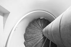 Windendes Treppenhaus Lizenzfreies Stockfoto