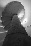 Windendes Treppenhaus Stockfoto