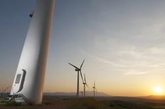 Windenergi royaltyfri fotografi