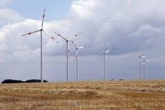 Windenergie 01 Stockfotos